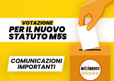 Voto sullo statuto del 2 e 3 agosto – Comunicazioni importanti
