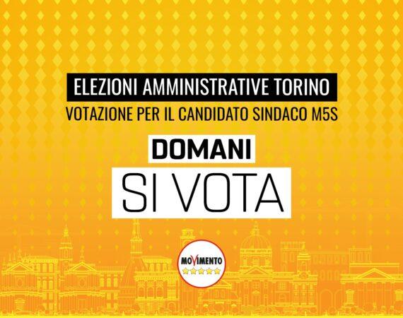 Amministrative Torino, domani si vota per scegliere il candidato sindaco M5S
