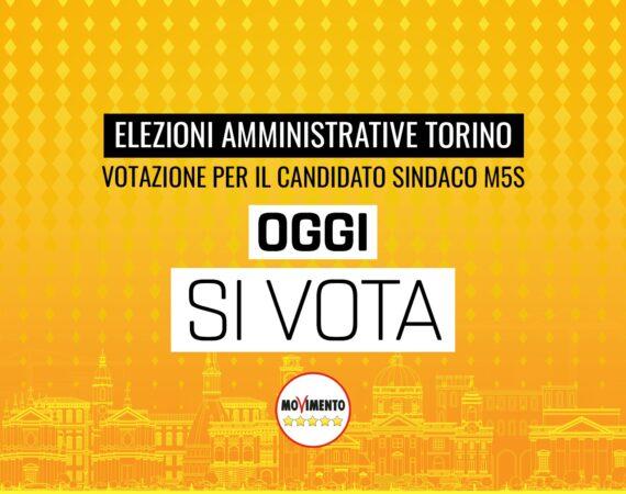 Amministrative Torino, oggi si vota dalle 10 alle 22 per scegliere il candidato sindaco M5S