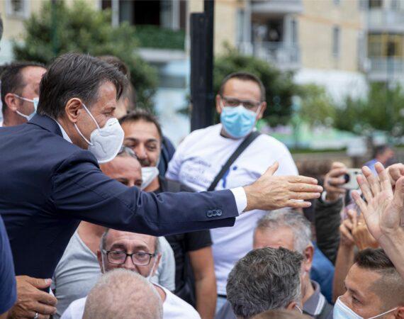 Prosegue il tour in Italia di Giuseppe Conte